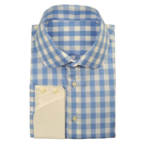 Modern tailor different styles of shirt collars by modern tailor