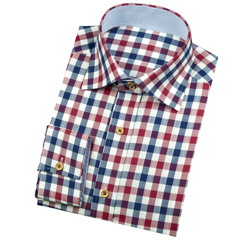 Check dress shirt images galleries for Blue check dress shirt