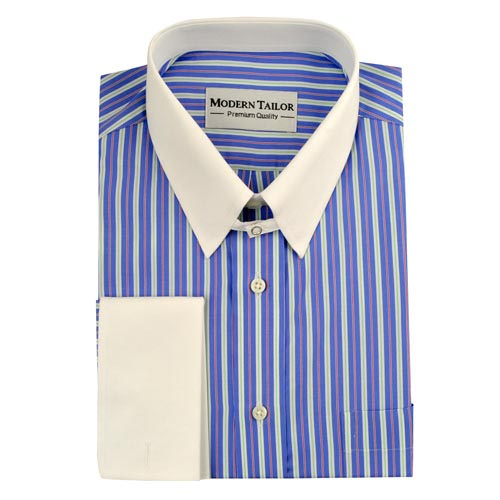 Dress shirts moderntailor custom tailored shirts online for Different types of dress shirt collars
